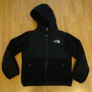 North Face Girls XS (6) Black Denali Fleece Jacket